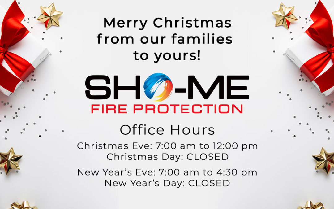 Merry Christmas from Sho-Me Fire Protection